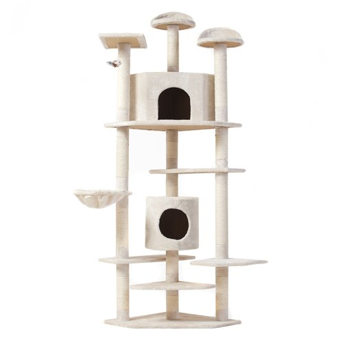 """The Tabby"" Cat Nap Cat Tree Condo Pet Furniture Scratching Post Premium Quality Pet House, 80"""