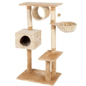 "Favorite Multi-Level 46"" Cat Tree with Scratching Post"