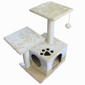 America Phoenix Multi Color Newest Cat Tree Condo Furniture Scratch Post Perch Post Pet House Perch Activity Trees