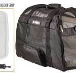 Caldwell's Pets Supply Co. Deluxe Soft-sided Airline Approved Airport Pet Carrier Travel Bag