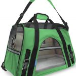 OxGord Airline Approved Pet Carriers w/ Fleece Bed For Cats