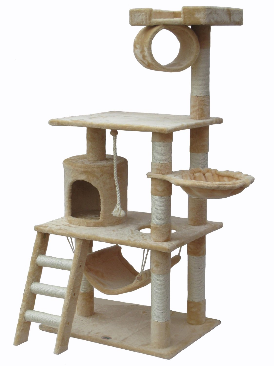 Best cat tree buyers guide crazy cat lady magazine for Diy cat tree pvc pipe
