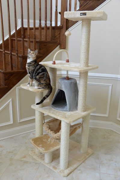 Armarkat Cat tree Furniture Cond