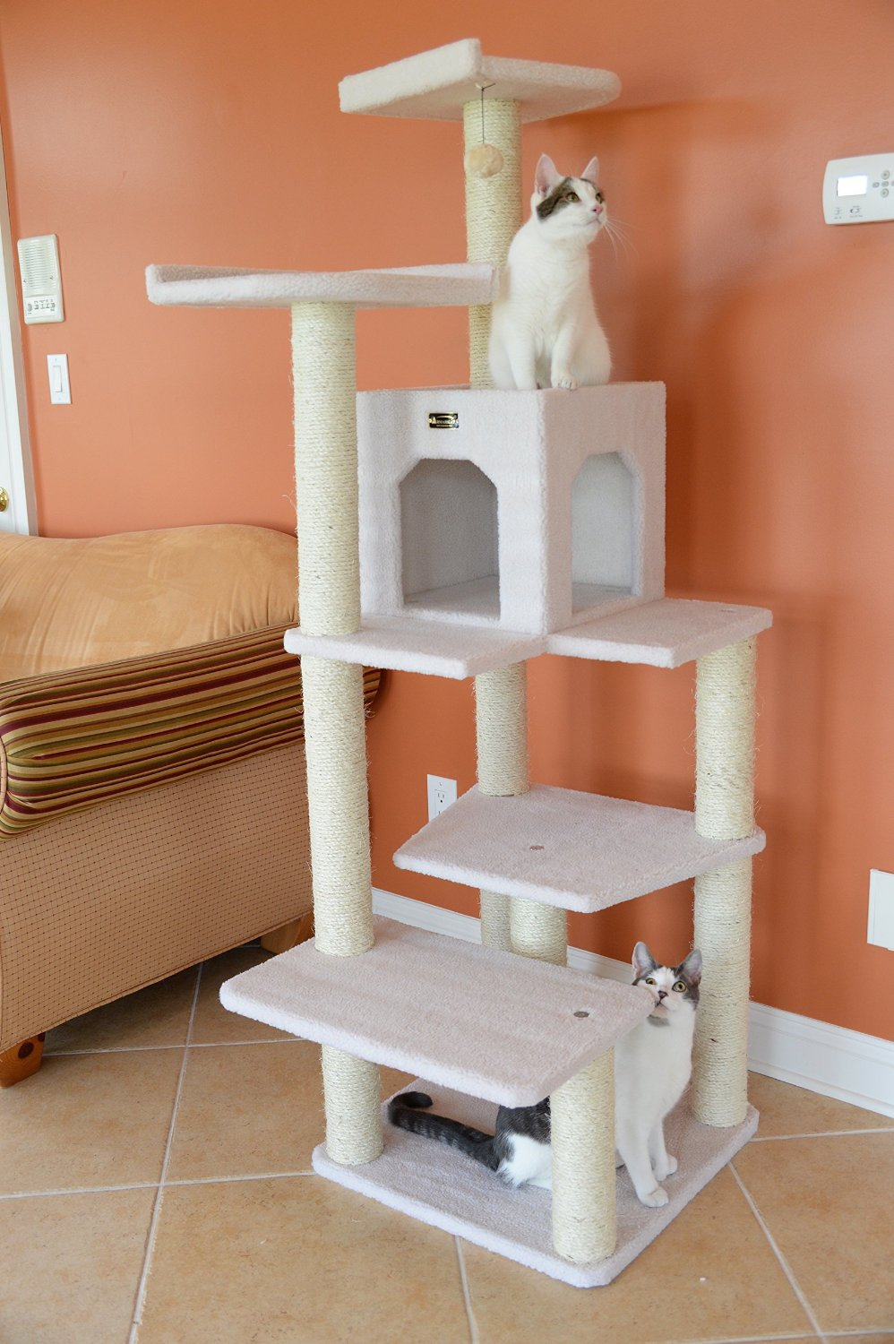 Armarkat Wood Cat Tower
