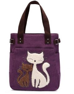 Cat Canvas Bag