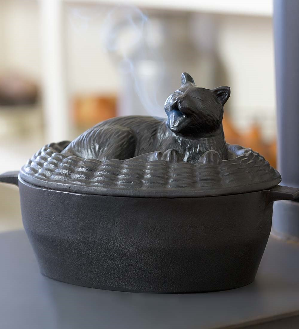Cat Steamer Pot