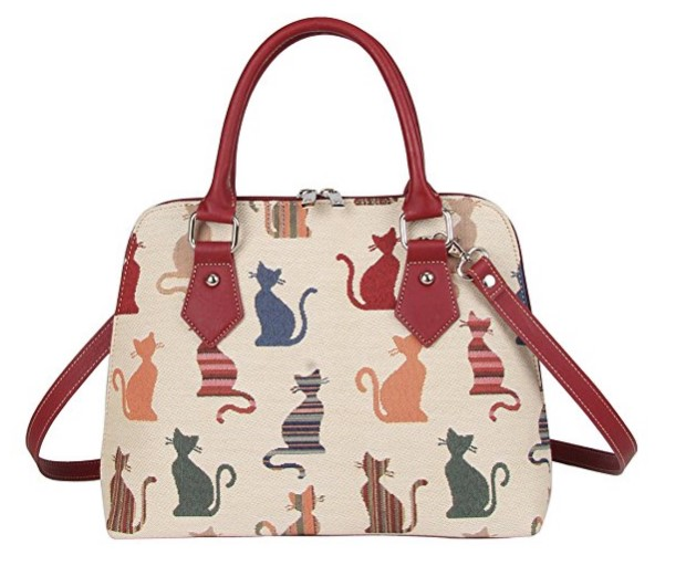 Signare Cat Purse Handbag