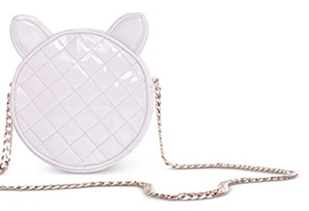 White cat bag