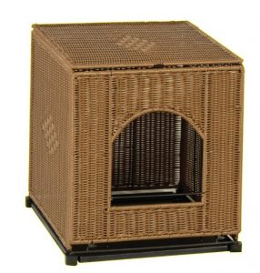Wicker Cat Litter Pan Cover