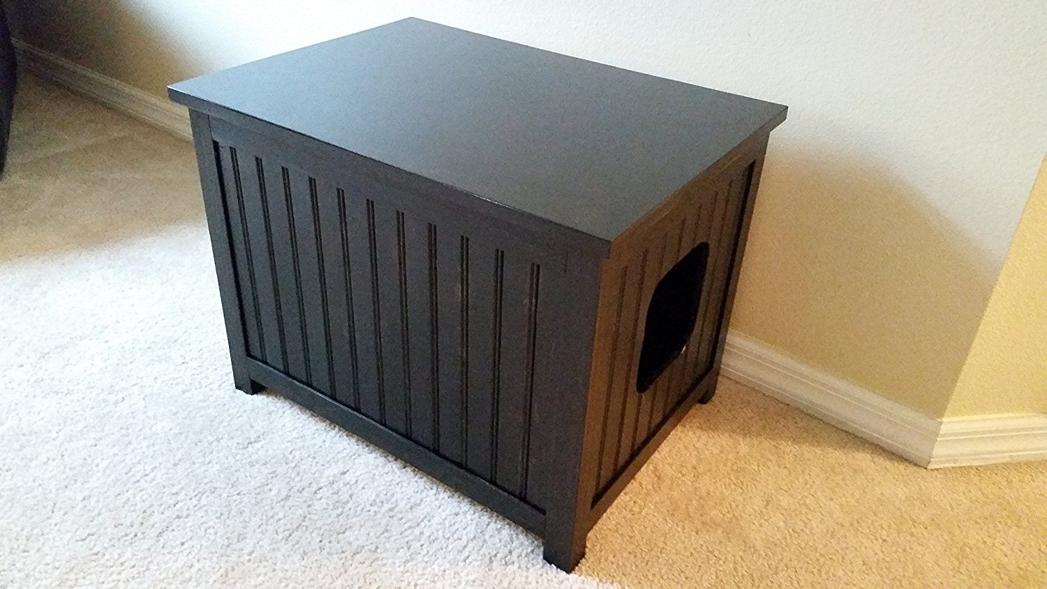 Small Odor Free Cat Litter Box Cabinet