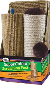 super catnip scratching post