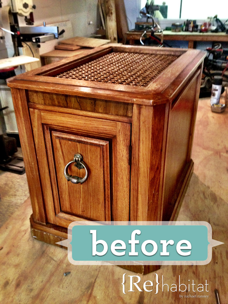converted cabinet litter box furniture
