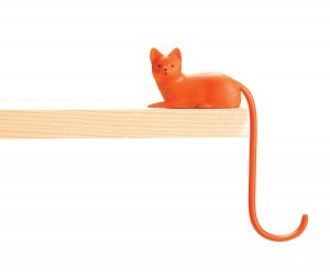 Ginger -Screen Hook. For hanging accessories such as headphones, keys, cables