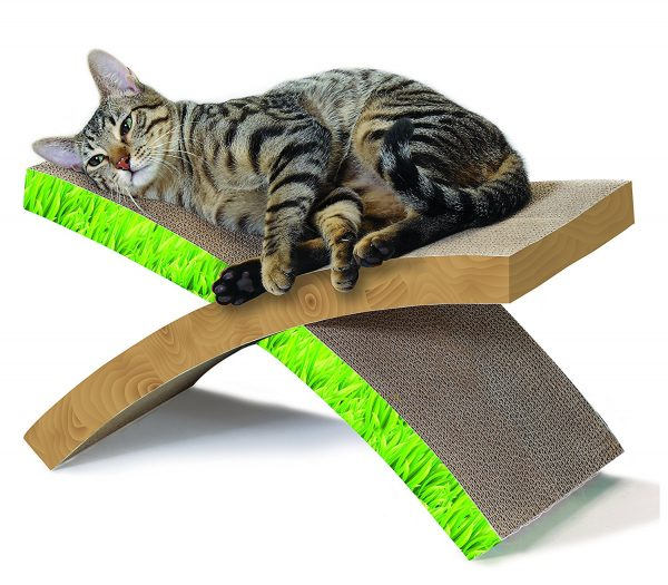 Petstages 710 Invironment Easy Life Hammock Scratcher Cat Scratcher and Rest
