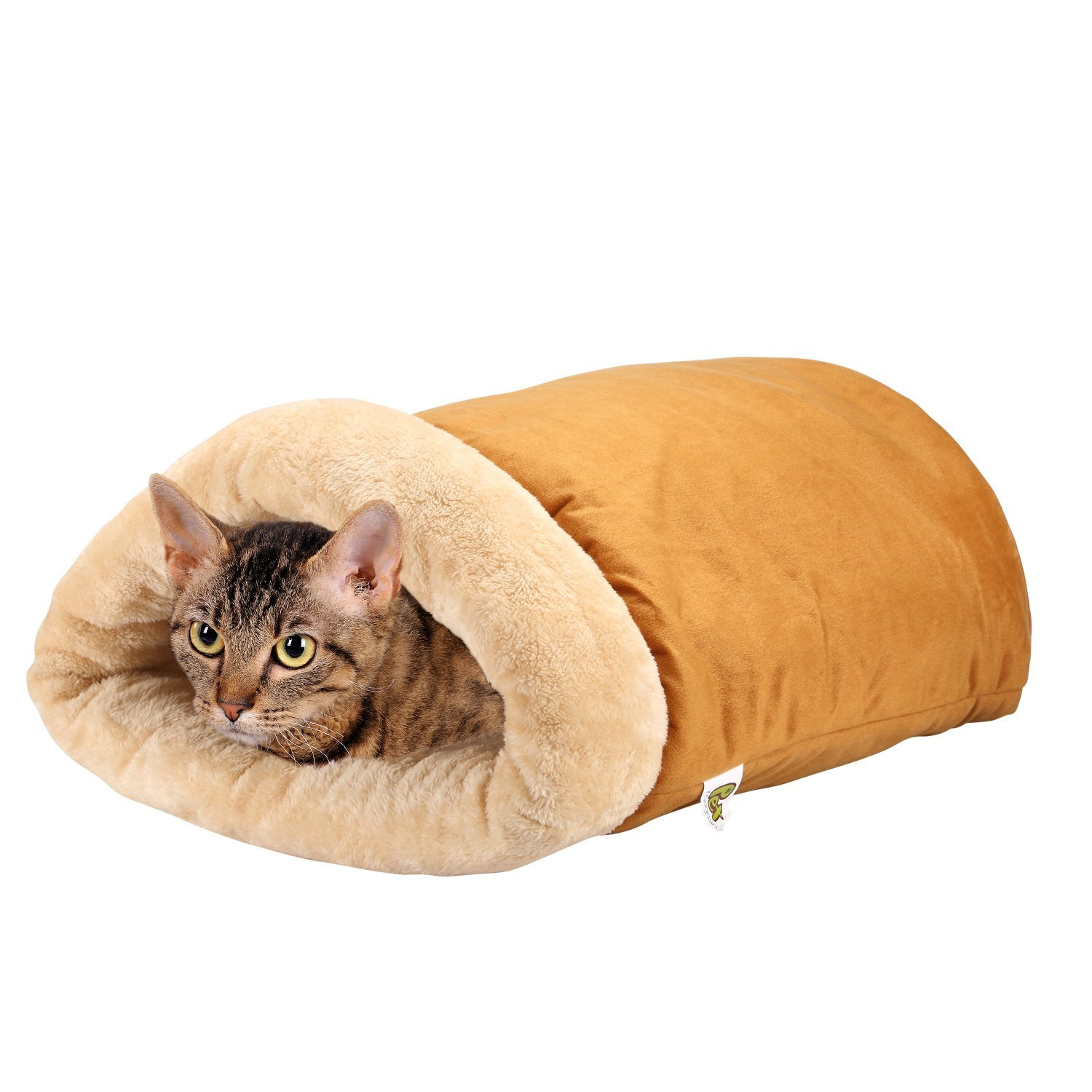 Pet Magasin Cat Cave - A Four-Way Snuggly Bed and Hideaway for Cats
