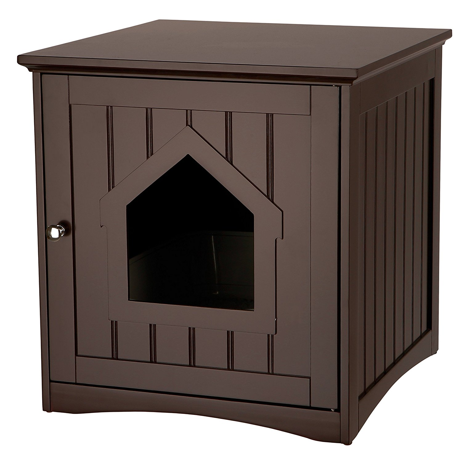 Trixie Pet Products Wooden Cat Home & Litter Box