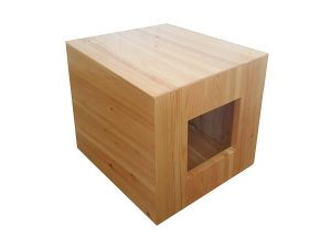 Philociety Fully Assembled Enclosure Cat Litter Box
